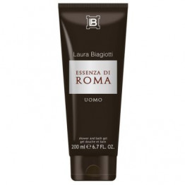 Laura Biagiotti Essenza di Roma Uomo Bath and Shower Gel 200ML