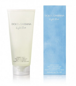 Dolce & Gabbana Light Blue energy body bath & shower gel 200ml