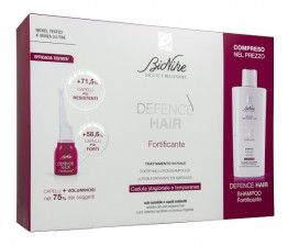 Bionike Defence Hair Fortificante Trattamento in Fiale + Shampoo Kit