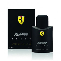 Scuderia Ferrari Black Aftershave Lotion 75ML