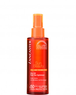 Lancaster Sun Beauty Dry Oil Fast Tan Optimizer SPF50 - Corpo 150ML