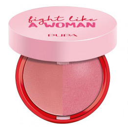 Pupa Fight Like a Woman Extreme Blush Duo - Wild rose/Pink party