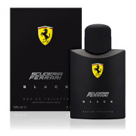 Scuderia Ferrari Black 125ML