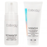 Cobea Duo Soft Cleansing Foam + Purifying Scrub 2 x 100ML