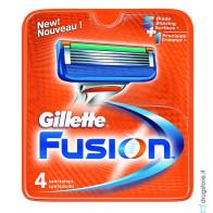 Gillette Fusion Lame di Ricambio 4 PZ
