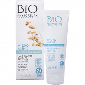 Phytorelax Hydro Avena Maschera Viso Idratante Anti-Stress 75ML