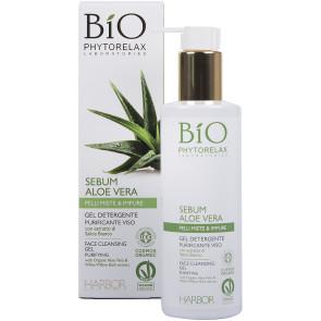 Phytorelax Sebum Aloe Vera Gel Detergente Purificante Viso 200ML