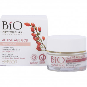 Phytorelax Active Age Goji Crema Viso Intensiva Anti-Età 50ML