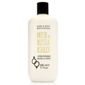 Alyssa Ashley Musk Hand & Body Moisturiser 500ML