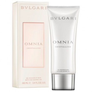 Bulgari Omnia Crystalline Bath and Shower Gel 100ml