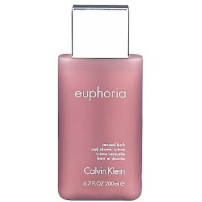 Calvin Klein Euphoria Sensual Bath and Shower Creme 200ml