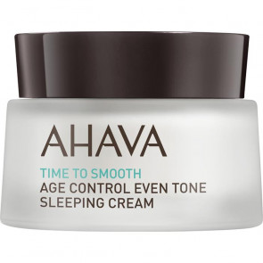 Ahava Time to Smooth Age Control Even Tone Sleeping Cream 50ML