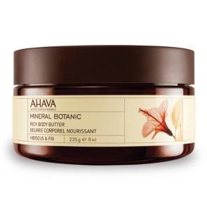 Ahava Mineral Botanic Rich Body Butter Hybiscus & Fig 235GR