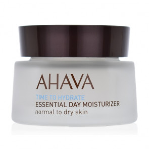 Ahava Time to Hydrate Essential Day Moisturizer Normal to Dry Skin 50ML