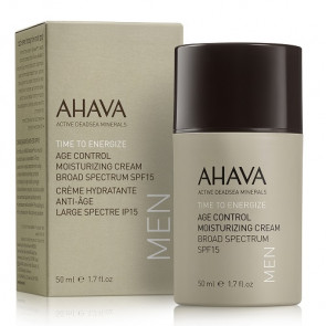 Ahava Time To Energize Men Age Control Moisturizing Cream SPF15 50ML