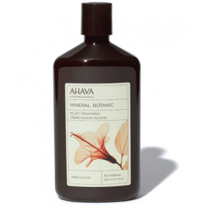 Ahava Mineral Botanic Cream Wash Hibiscus & Fig 500ML