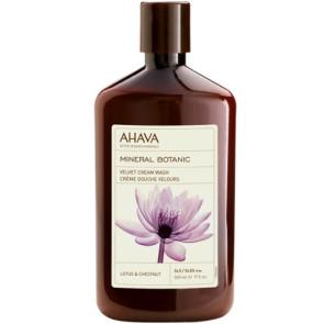Ahava Mineral Botanic Cream Wash Lotus & Chestnut 500ML