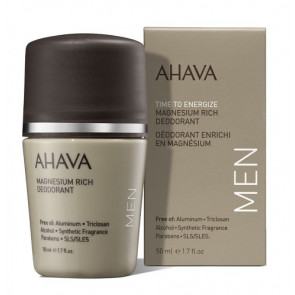 Ahava Time to Energize Men Magnesium Rich Deodorant Roll On 50ML