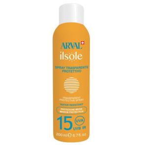 Arval ilsole Spray Trasparente Protettivo SPF 15 200ML