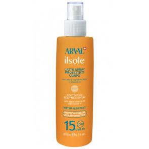 Arval ilsole Latte Spray Protettivo Corpo SPF 15 200ML