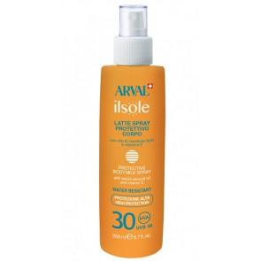 Arval ilsole Latte Spray Protettivo Corpo SPF 30 200ML