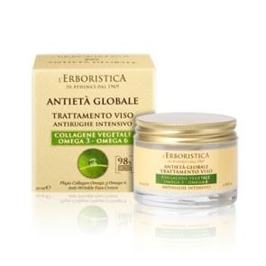 Athena's L'Erboristica Antieta' Globale Trattamento Viso Antirughe Intensivo 50ML
