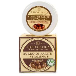 Athena's L'Erboristica Crema Viso-Mani-Corpo Burro Di Karite e Vitamina E 100ML