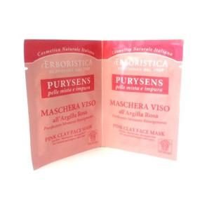 Athena's L'Erboristica Purysens Maschera Viso All'Argilla Rosa 20ML