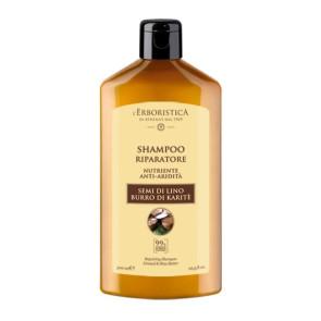 Athena's L'Erboristica Shampoo Riparatore ai Semi di Lino e Burro di Karite 300ML