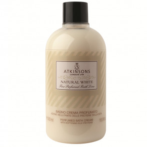 Atkinsons Fine Perfumed Line Natural White Bagno Crema Profumato 500ML