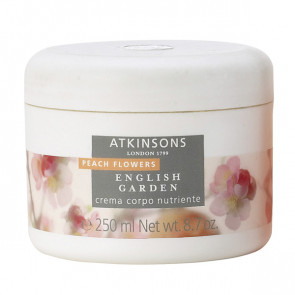 Atkinsons English Garden Peach Flowers Crema Corpo 250ML