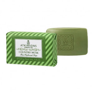 Atkinsons Fine Perfumed Line Country Musk Sapone
