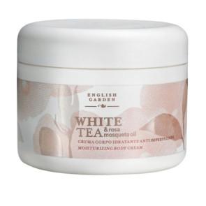 Atkinsons English Garden White Tea e Rosa Mosqueta Oil Crema Corpo Idratante Anti Imperfezioni 250ML