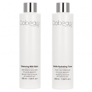 Cobea Duo Gentle Hydrating Toner + Cleansing Milk Balm 2 x 200ML