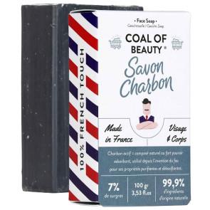 Monsieur Barbier Coal Of Beauty Face Soap 100GR