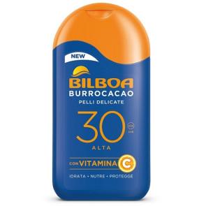Bilboa Burrocacao Pelli Delicate Latte Solare SPF 30 200ML