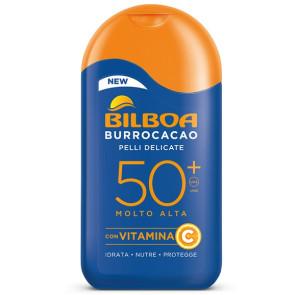 Bilboa Burrocacao Pelli Delicate Latte Solare SPF 50+ 200ML