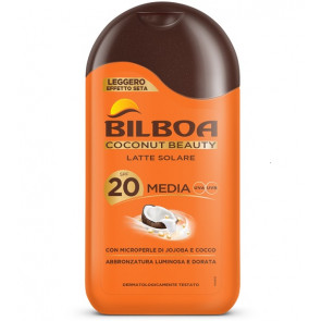 Bilboa Coconut Beauty Latte Solare SPF 20 200ML