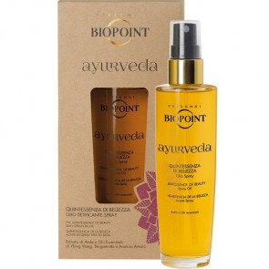 Biopoint Ayurveda Quintessenza di Bellezza Olio Spray 100ML