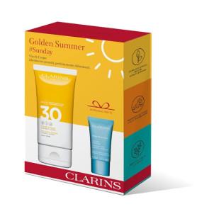 Clarins Golden Summer Crème Solaire SPF30 150 ml Kit 2