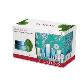 Clarins Blue Bag Hydra Cofanetto