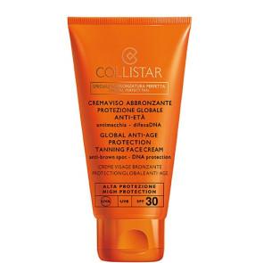 Collistar Speciale Abbronzatura Perfetta Crema Viso Abbronzante Protezione Globale Anti-Età SPF 30