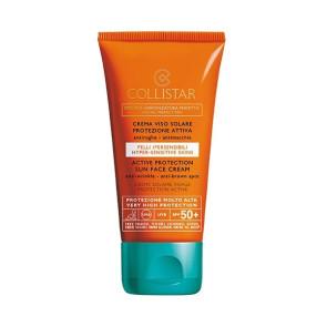 Collistar Speciale Abbronzatura Perfetta Crema Viso Solare Protezione Attiva Pelli Ipersensibili SPF 50+