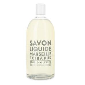 Compagnie de Provence Bois d'Olivier Savon Liquide Ricarica 1000ML