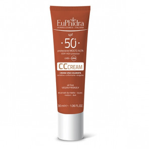 Euphidra Kaleido UV System CC Cream SPF 50 + Scuro 30ML