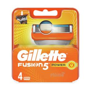 Gillette Fusion 5 Power Ricariche 4 pezzi