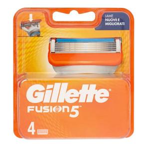 Gillette Fusion 5 Ricariche 4 pezzi