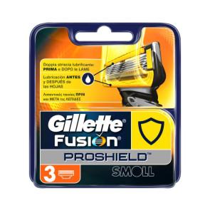 Gillette Fusion ProShield Lame di Ricambio 3PZ