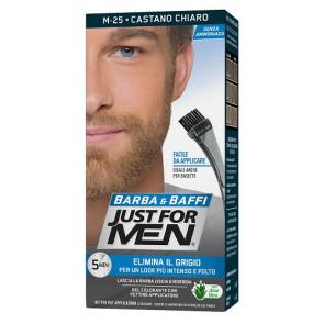 Just For Men Barba & Baffi Gel Colorante M25 Castano Chiaro
