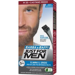 Just For Men Barba & Baffi Gel Colorante M35 Castano Medio